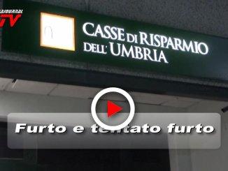 Video del furto al bancomat e del tentato furto al bar nel Perugino, ladri scatenati