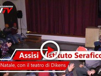 Istituto Serafico di Assisi, Buon Natale a Santa Lucia, il video del teatro
