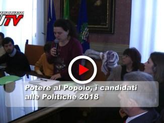 Politiche 2018, Potere al Popolo, il video dei candidati umbri