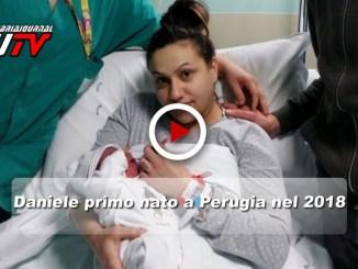Daniele primo nato in Umbria nel 2018, il video e l'intervista