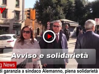 Solidarietà a Nicola Alemanno dopo avviso di garanzia, il video
