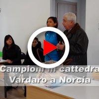 Elisa Vardaro racconta la sua storia campioni in cattedra a Norcia