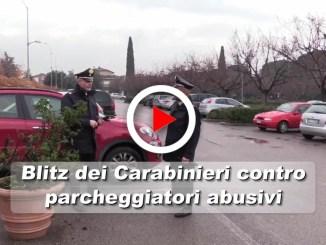 Controlli dei Carabinieri tra i parcheggiatori abusivi ad Assisi