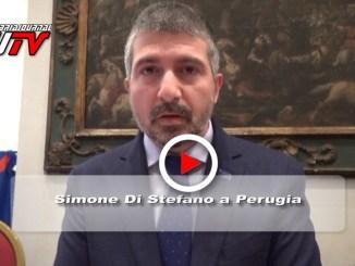 Casapound, Simone Di Stefano a Perugia, il video
