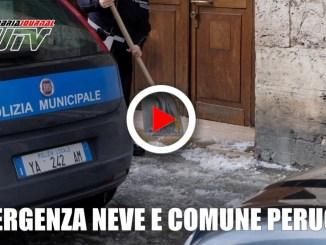 Emergenza neve, grande attività per il comune di Perugia