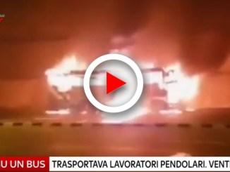 Autobus esplode 20 morti in Thailandia, il video della tragedia
