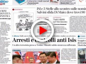 Rassegna stampa: i giornali di oggi giovedì 29 marzo