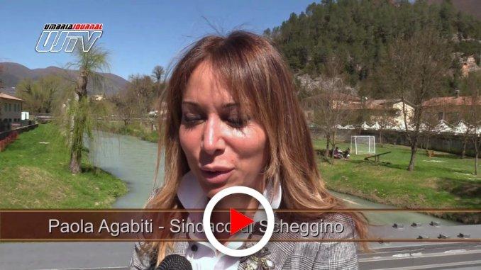 Intervista per Diamante Nero a Scheggino al sindaco Paola Agabiti