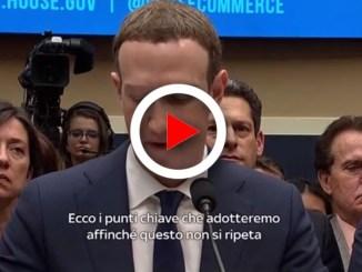 Facebook, Mark Zuckerbeg al Congresso: 3 punti per ricominciare