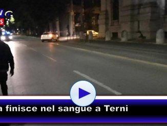 Sanguinosa rissa a Terni, tra tunisini e italiani, in tre in ospedale