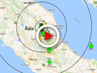 Terremoto nelle Marche: scossa 4.6 a Muccia, in provincia di Macerata