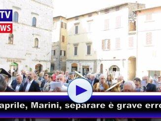 """Catiuscia Marini """"bacchetta"""" il sindaco di Todi, video della partecipazione"""