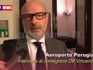 Aeroporto Perugia, De Vincenzi, tema rilevante urge affrontarlo