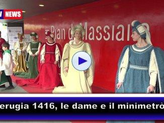 Perugia 1416, la città si tuffa nel Medioevo