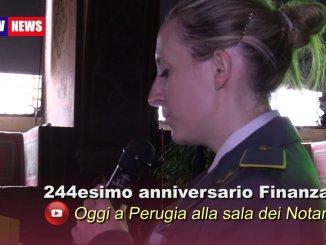 Celebrato a Perugia il 244esimo anniversario del Corpo della Guardia diFinanza