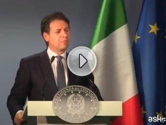 Conte: sui migranti soddisfatto all'80 per cento, più di Salvini