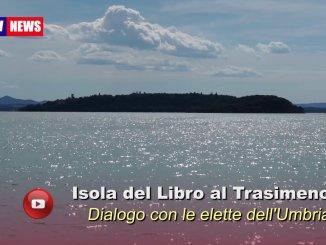 Isola del Libro Trasimeno ha dialogato con le elette dell'Umbria