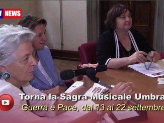 Sagra Musicale Umbra, Guerra e Pace, dal 13 al 22 settembre