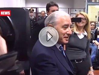 Marcello Dell'Utri ex senatore scarcerato per gravi motivi di salute