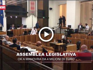 Regione, assestamento Bilancio 2018, ok a manovra da 4 milioni di euro