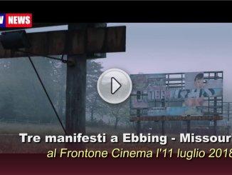Tre manifesti a Ebbing, Missouri al Frontone Cinema all'aperto