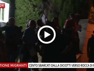 Arrivano i migranti della nave Diciotti, tensione a Rocca di Papa
