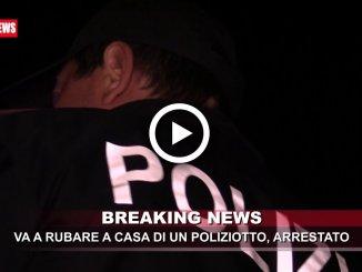 Va a rubare nella casa di un poliziotto, arrestato 22enne ad Assisi