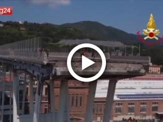 Genova, crollo del ponte, legge entro la metà del mese