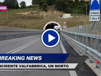 Le prime immagini dell'incidente mortale sulla 318 tra Valfabbrica e Casacastalda