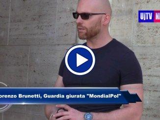 Lorenzo Brunetti, l'agente notturno aggredito, si racconta, video dichiarazione