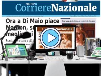 Il Nuovo corriere nazionale edizione di martedì 25 settembre 2018