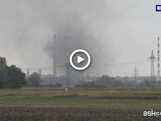 Germania, esplosione e incendio in raffineria, almeno 8 feriti