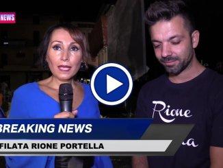 """Palio de San Michele, la sfilata del Rione Portella sfila """"O Sole Bio"""""""