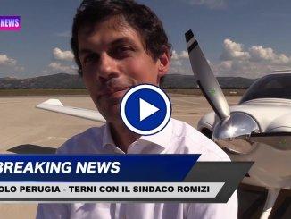 Air Terni in volo da Perugia, intervista al sindaco di Perugia, Andrea Romizi