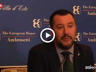 Fondi Lega, Salvini: i soldi? Problema di chi mi ha preceduto