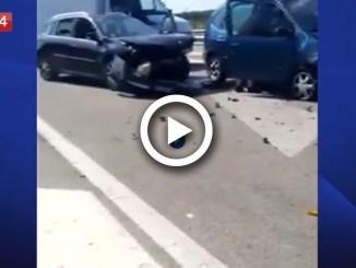 Sparatoria in pieno giorno a Bari, video, un morto e un ferito