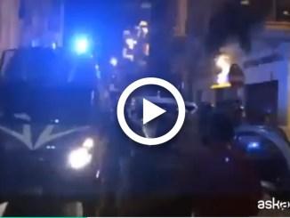 Aggressione al corteo anti Salvini a Bari, due feriti è di Aksa News