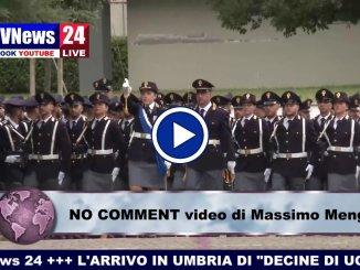 Matteo Salvini a Spoleto video NO COMMENT - Polizia di Stato - di Massimo Menghini