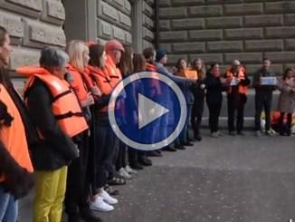 Aquarius, 25mila firme per chiedere bandiera svizzera per la nave