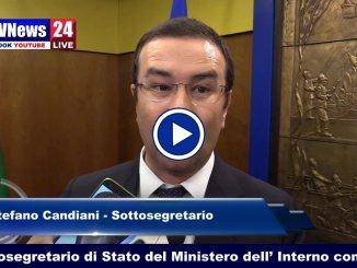 Stefano Candiani, un pomeriggio con i vigili del fuoco di Perugia VIDEO