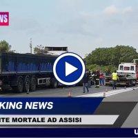 Incidente mortale sulla 75 Centrale Umbra, muore un uomo, il video dello scontro