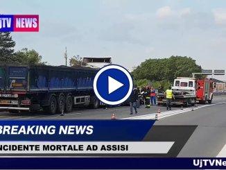 Incidente mortale sulla 75 Centrale Umbra, muore giovane nello scontro