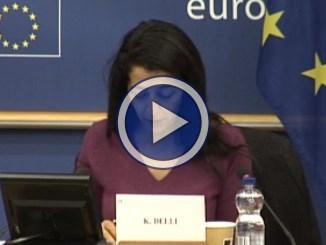 Parlamento Europeo, riunione commissione per i trasporti e il turismo