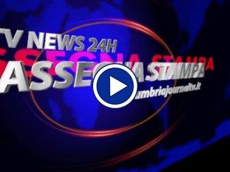 La video rassegna stampa dell'Umbria del 17 ottobre 2018 mercoledì