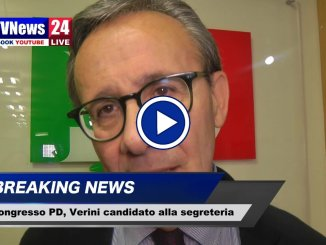 Verini candidato alla segreteria del Pd umbro, intervista video