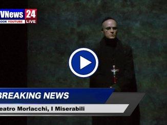 Teatro Morlacchi di Perugia, ecco i Miserabili di Victor Hugo, video