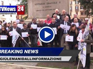 Giornalisti e società civile uniti a difesa della libertà di stampa, video