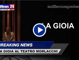 La Gioia al Teatro Morlacchi di Perugia con Delbono, il video