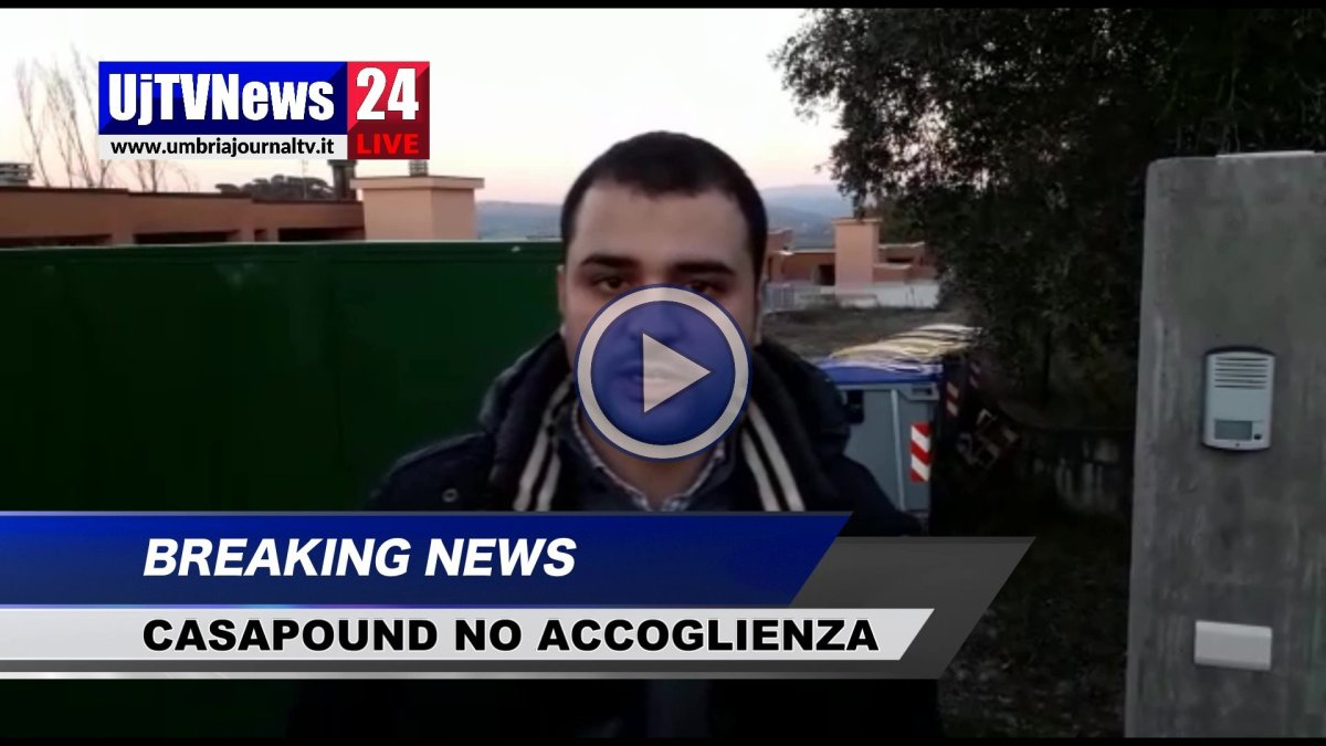 Blitz in via del Favarone, video CasaPound, basta business accoglienza