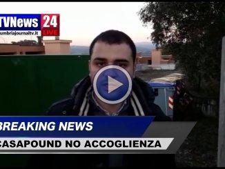 Blitz in via del Favarone, video CasaPound, basta business accoglienza